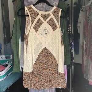 Super cute boho dress.